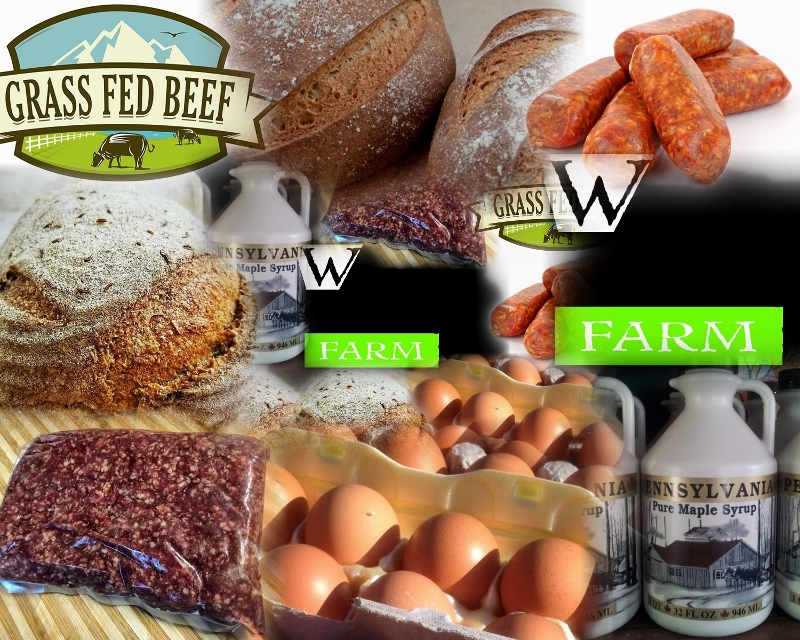 Grass Fed Beef and other offerings