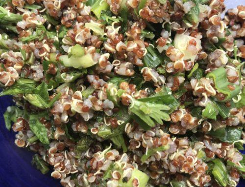 Spring Tabouleh Recipe